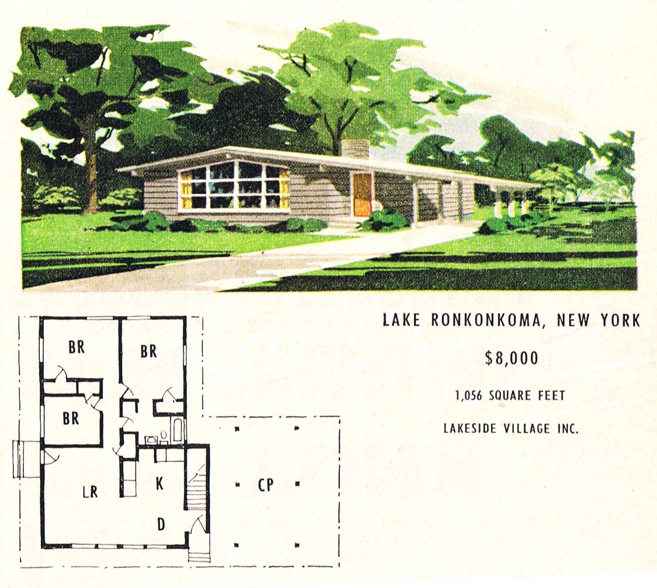 Lakeside village mcm ranch mid century modern dream house plans pinterest ranch and mid Mid century modern home plans