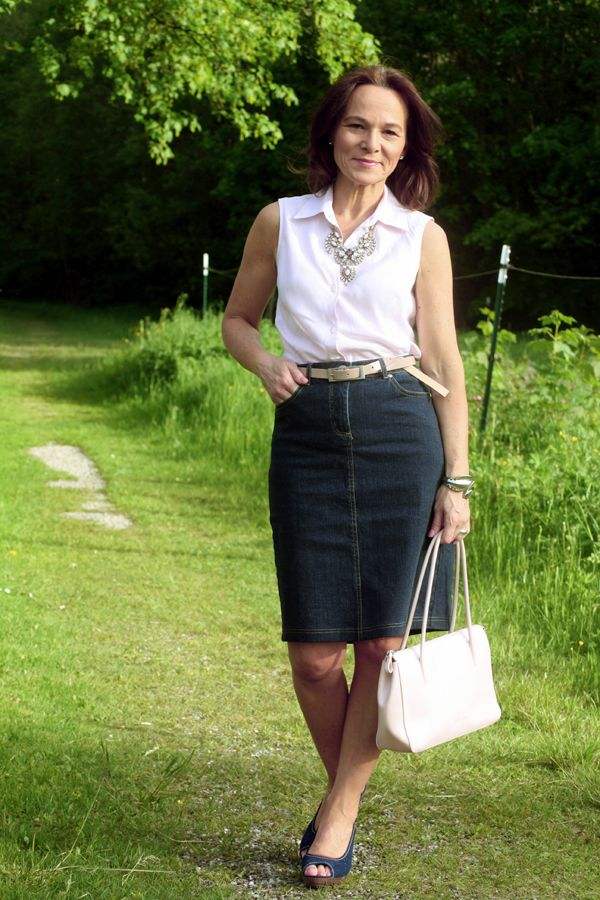REVIVAL OF THE DENIM SKIRT | My Style - Spring Fashion ...