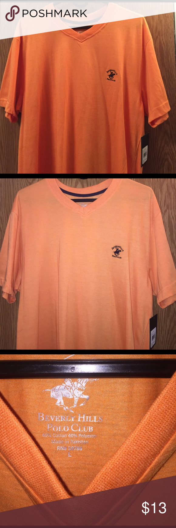 38a97758835 Beverly Hills Polo Club Womens T Shirts