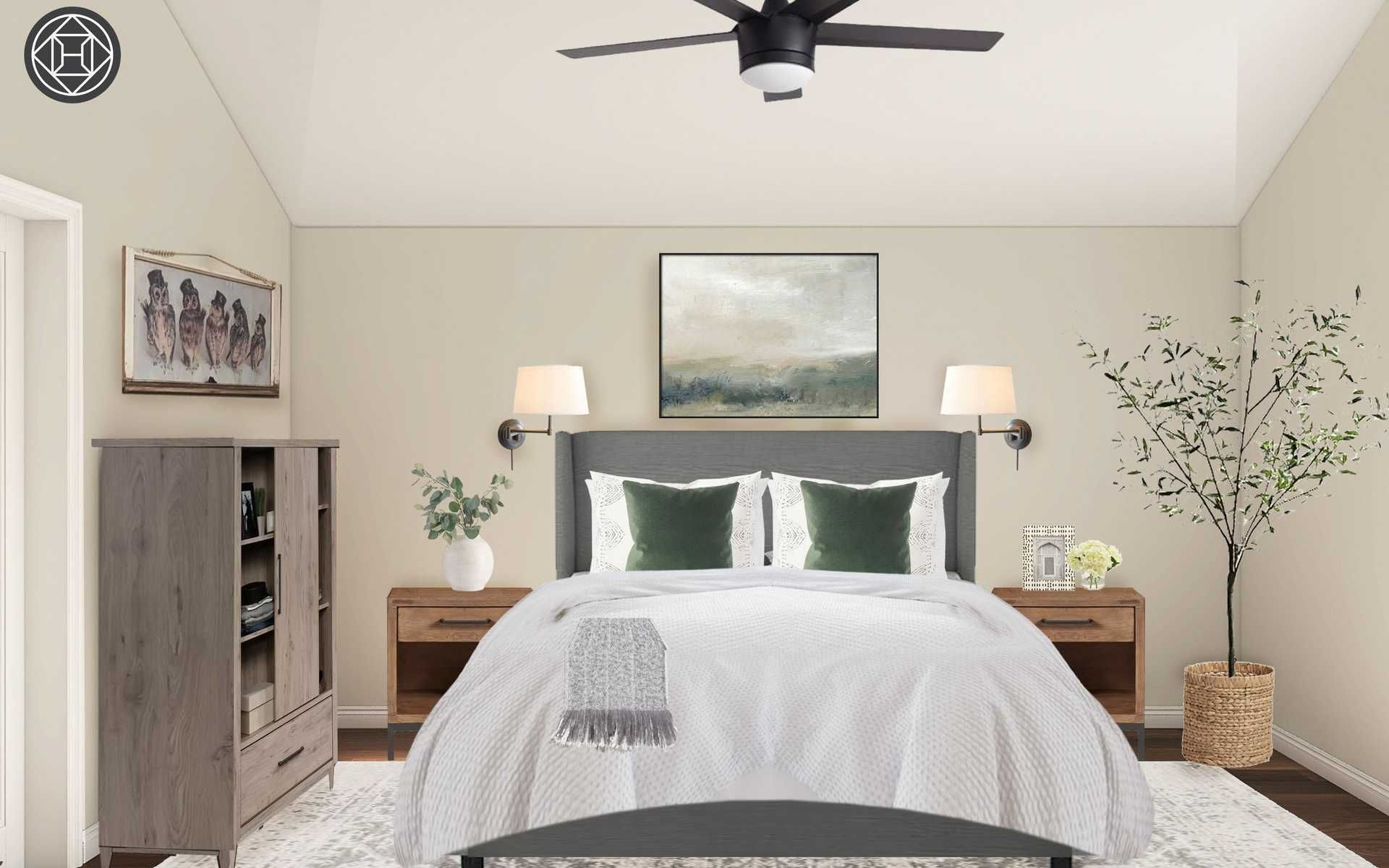 Contemporary Classic Bedroom Design By Havenly Interior Designer Tara Classic Bedroom Design Bedroom Design Interior Design