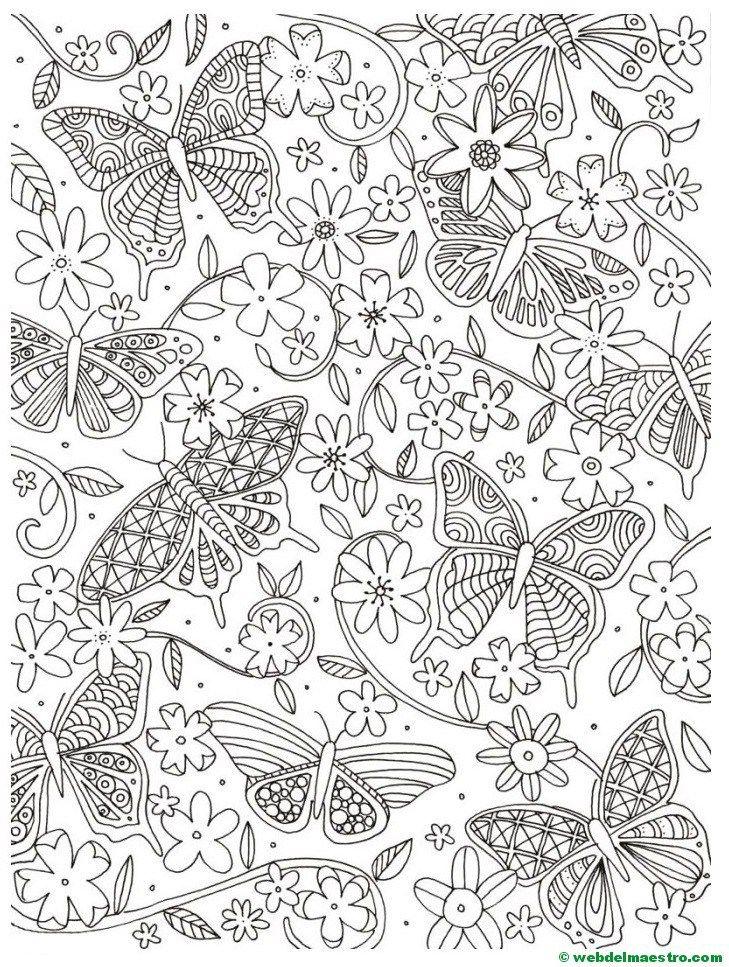 Dibujos antiestrés | Material didactico para niños, Dibujos para ...