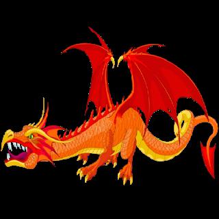 Dragon Clipart Clipartonline3 Png 320 320 Cartoon Dragon Red Dragon Fire Dragon