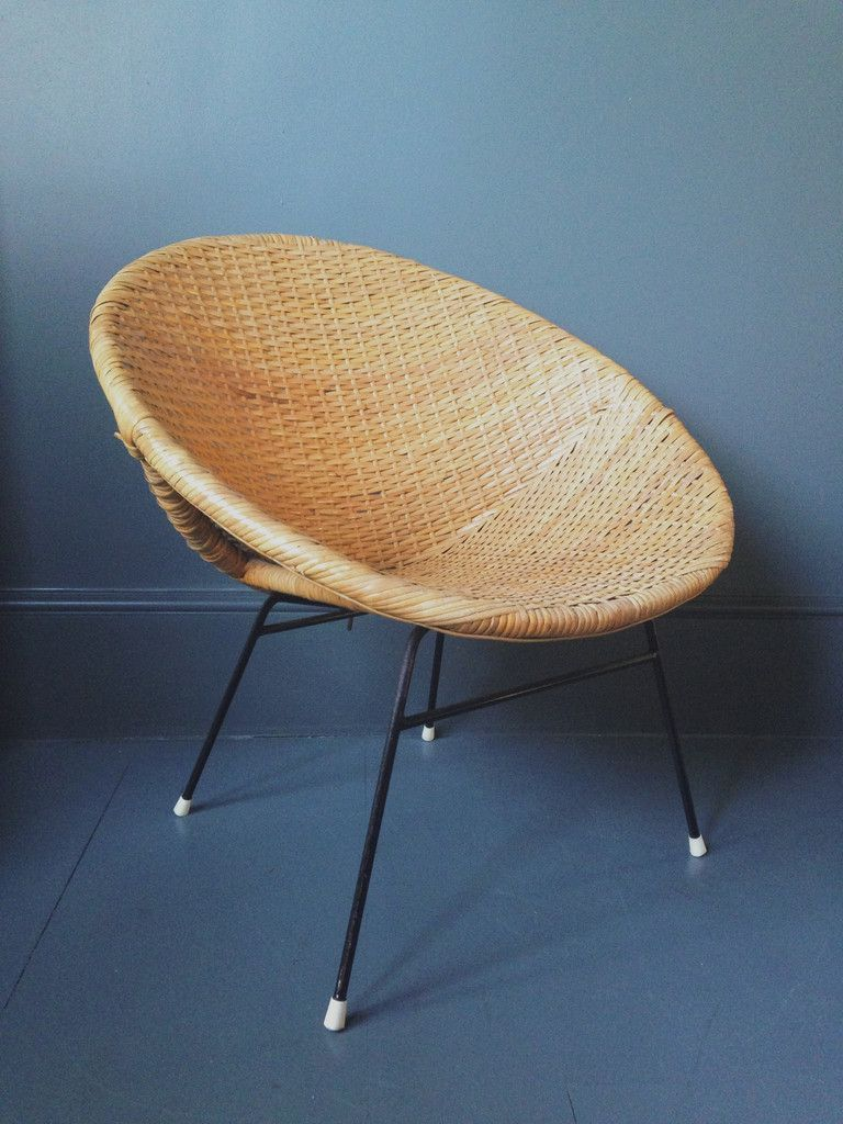 Satellite Chair Midcentury Wicker Satellite Chair Homeplace Mid Mod Madness