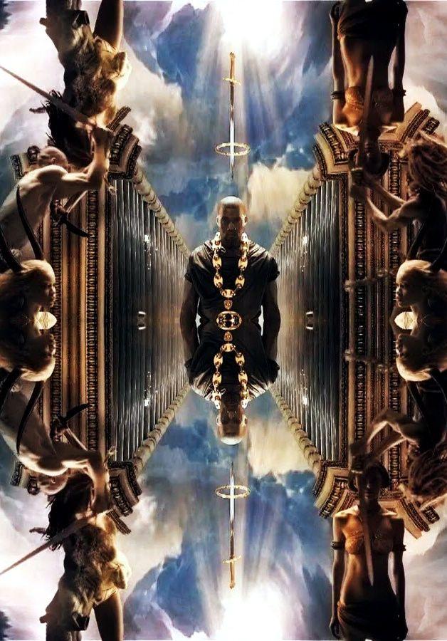 Pin By Steffani Digital Humanities Pr On Kanye Beautiful Dark Twisted Fantasy Music Album Art Kanye West Wallpaper