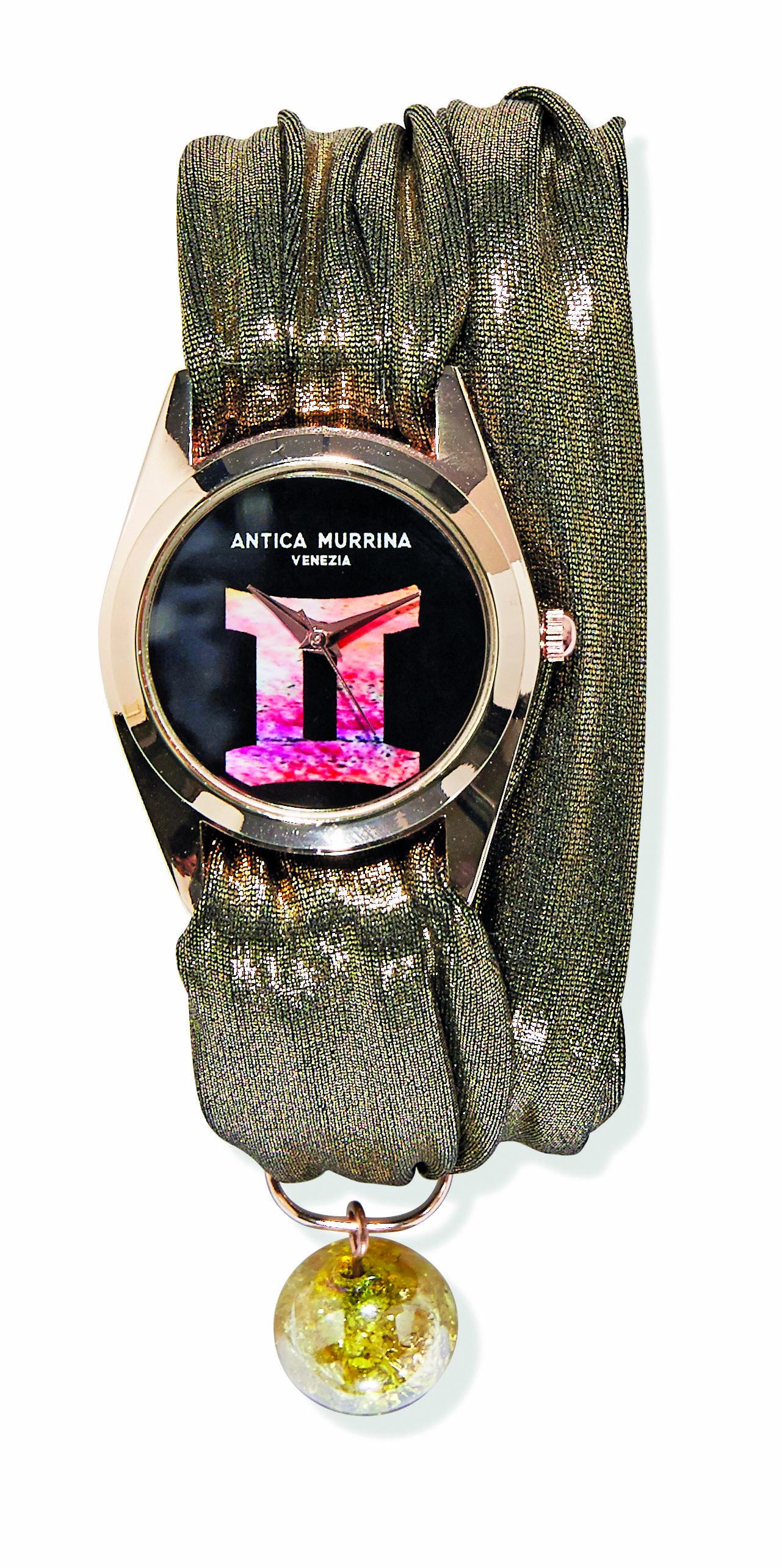 Zodiaco watch - Blooming Glass 2014 - Antica Murrina