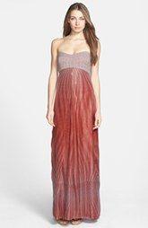 Diane von Furstenberg 'Adrianna' Mixed Media Gown
