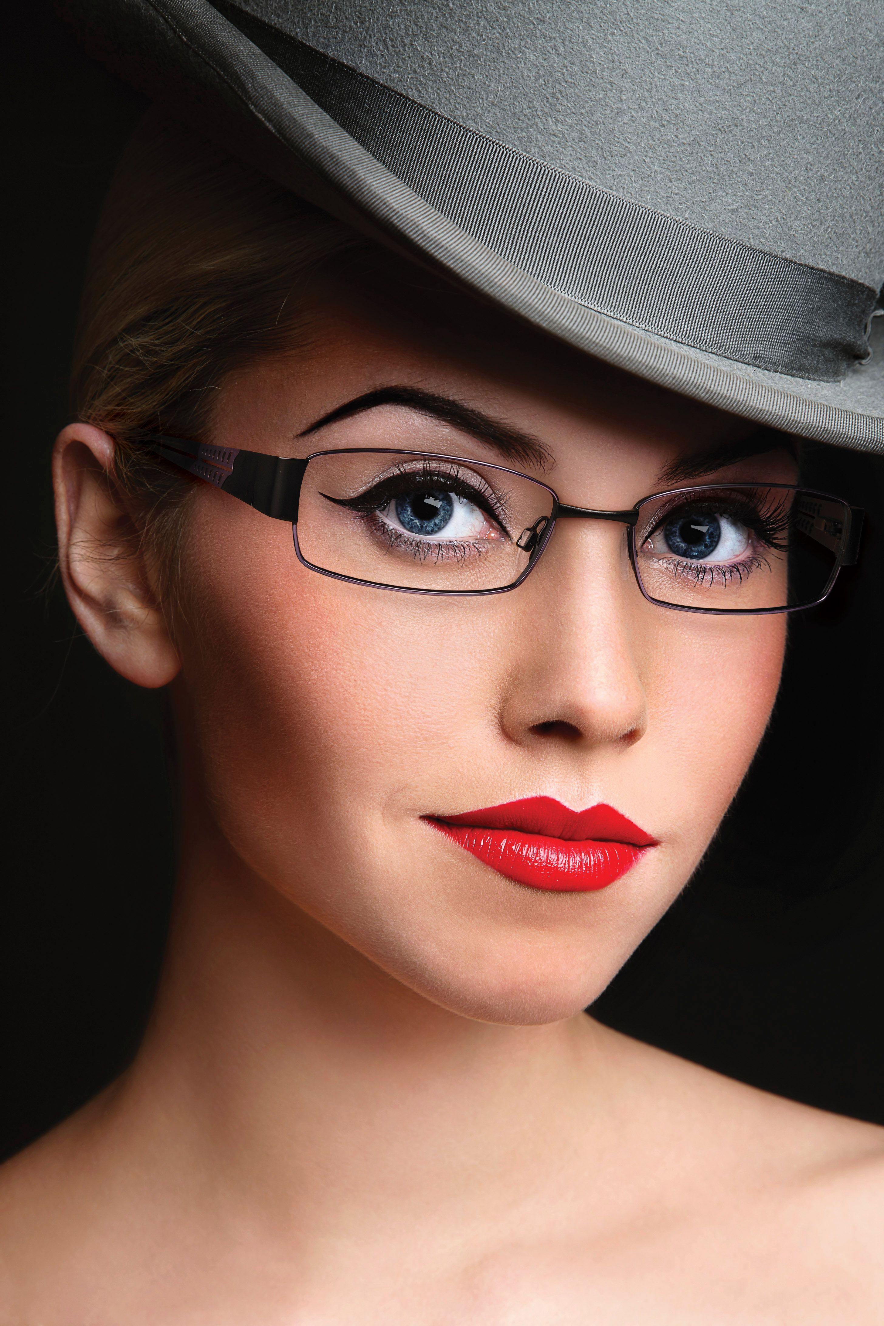 Women's Modern Art, eye glass frames by Modern Optical