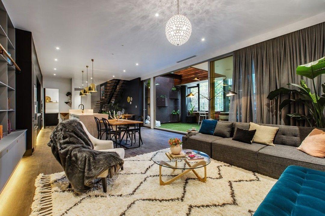 Стильные современные апартаменты в Мельбурне > http://on.fb.me/1U88gax  Отличное городское жилье!