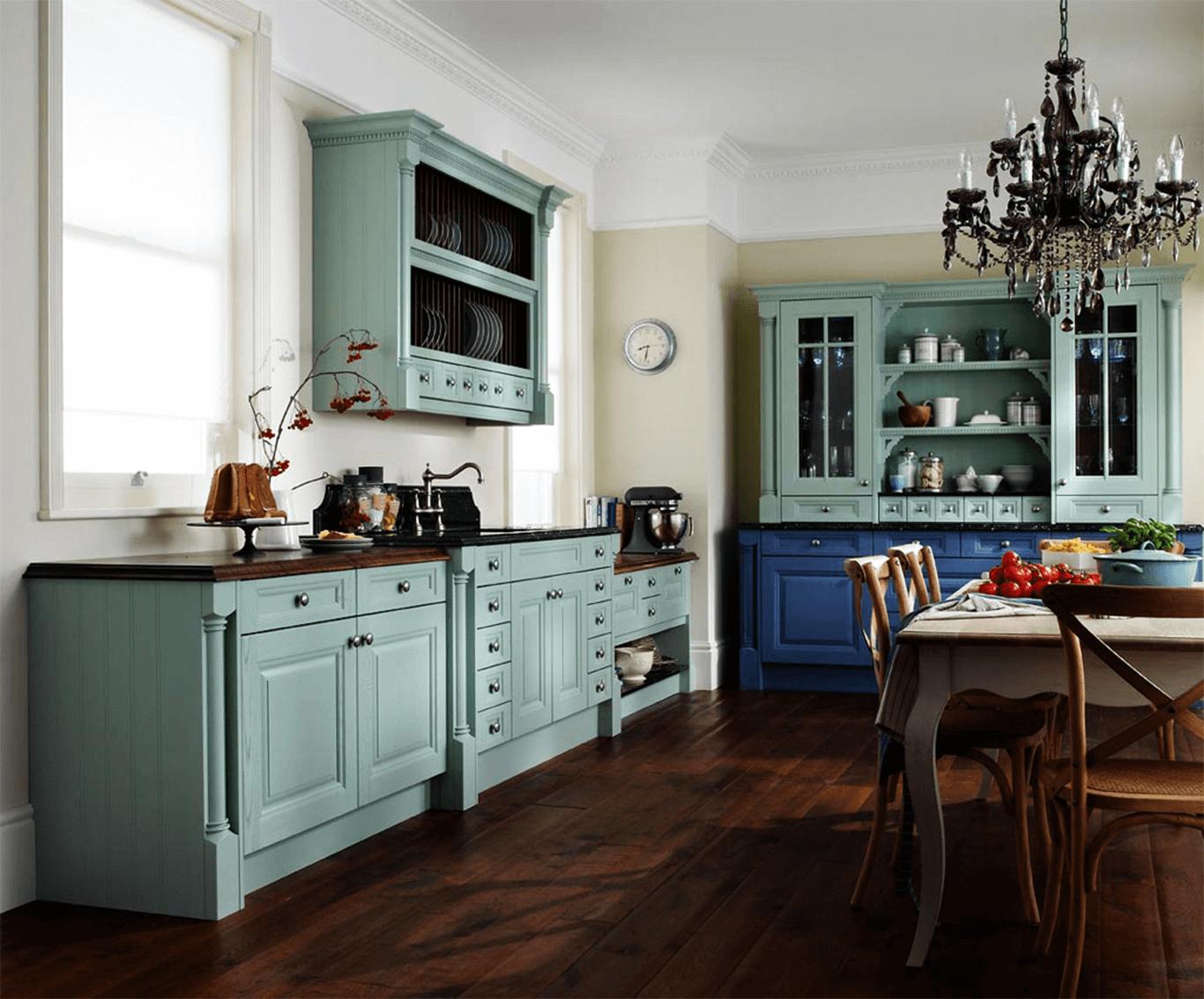 blue paint kitchen cabinet glaze colors rustic design | kitchen
