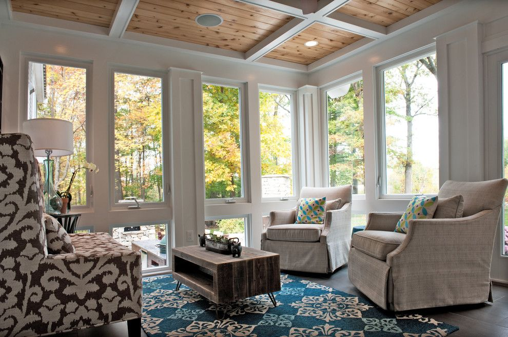 Superb Magnificent Swivel Glider Chair In Sunroom Traditional With Dirty . Home Design Ideas