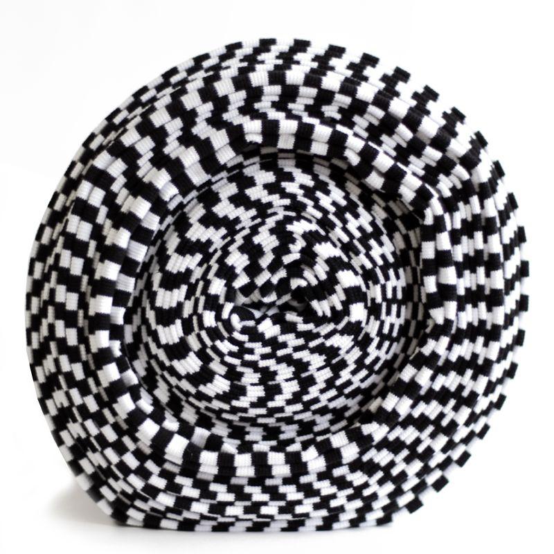 Boordstof Zwart-Wit – BIO | Kiwi Fabrics