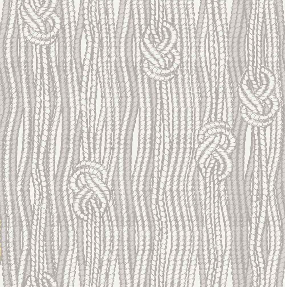 Boho Macramé Knots in Beige W1191 Wallspruce Removable
