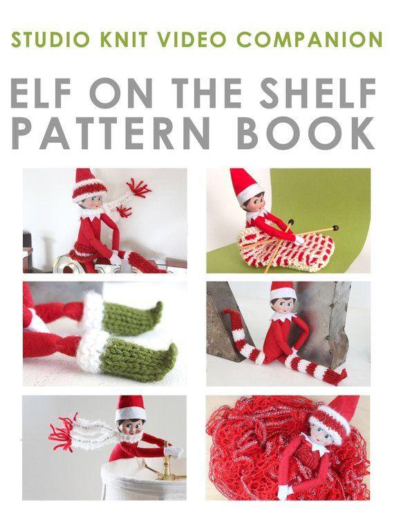 Elf On The Shelf Knitting Pattern Book 7 Fashion