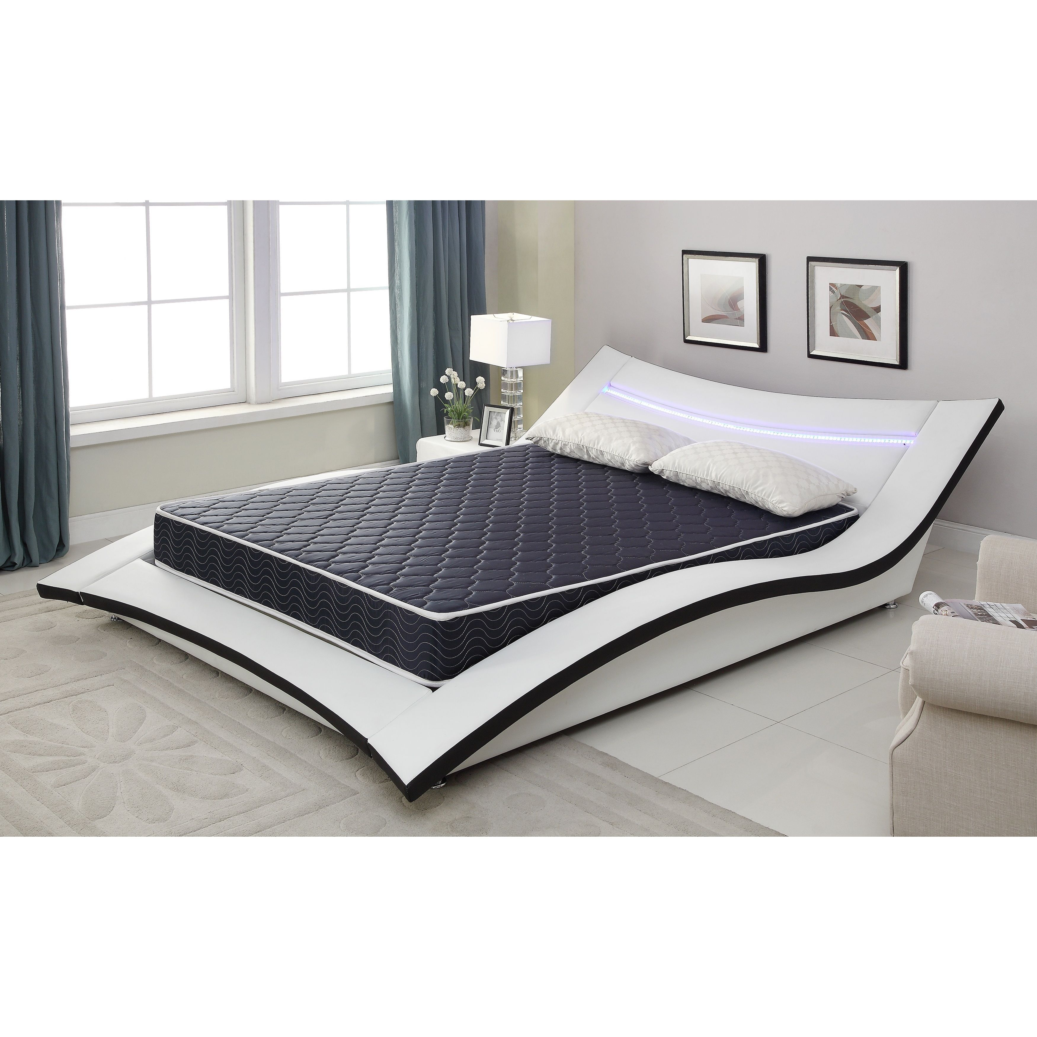 AC Pacific 6-inch Twin-size Foam Mattress with Waterproof Cover ...
