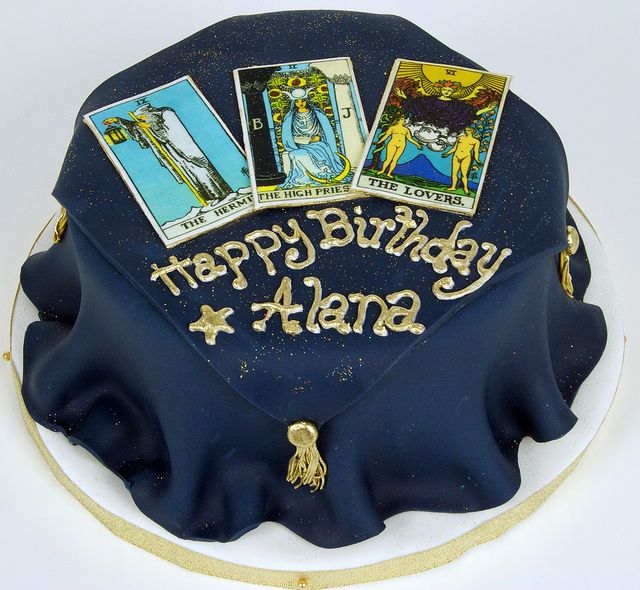 Tarot Card Cake Toronto Pagan Bos All Things Tarot Pinterest