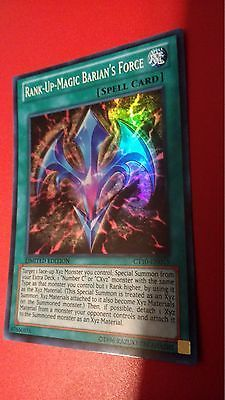 CT10-EN015 Rank Up Magic Barian/'s Force Near Mint - Super Rare