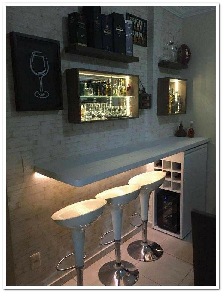 38 Stunning Small Apartment Decorating Ideas Smallapartment Smallapartmentdecorating Smallapartme Home Bar Decor Designs