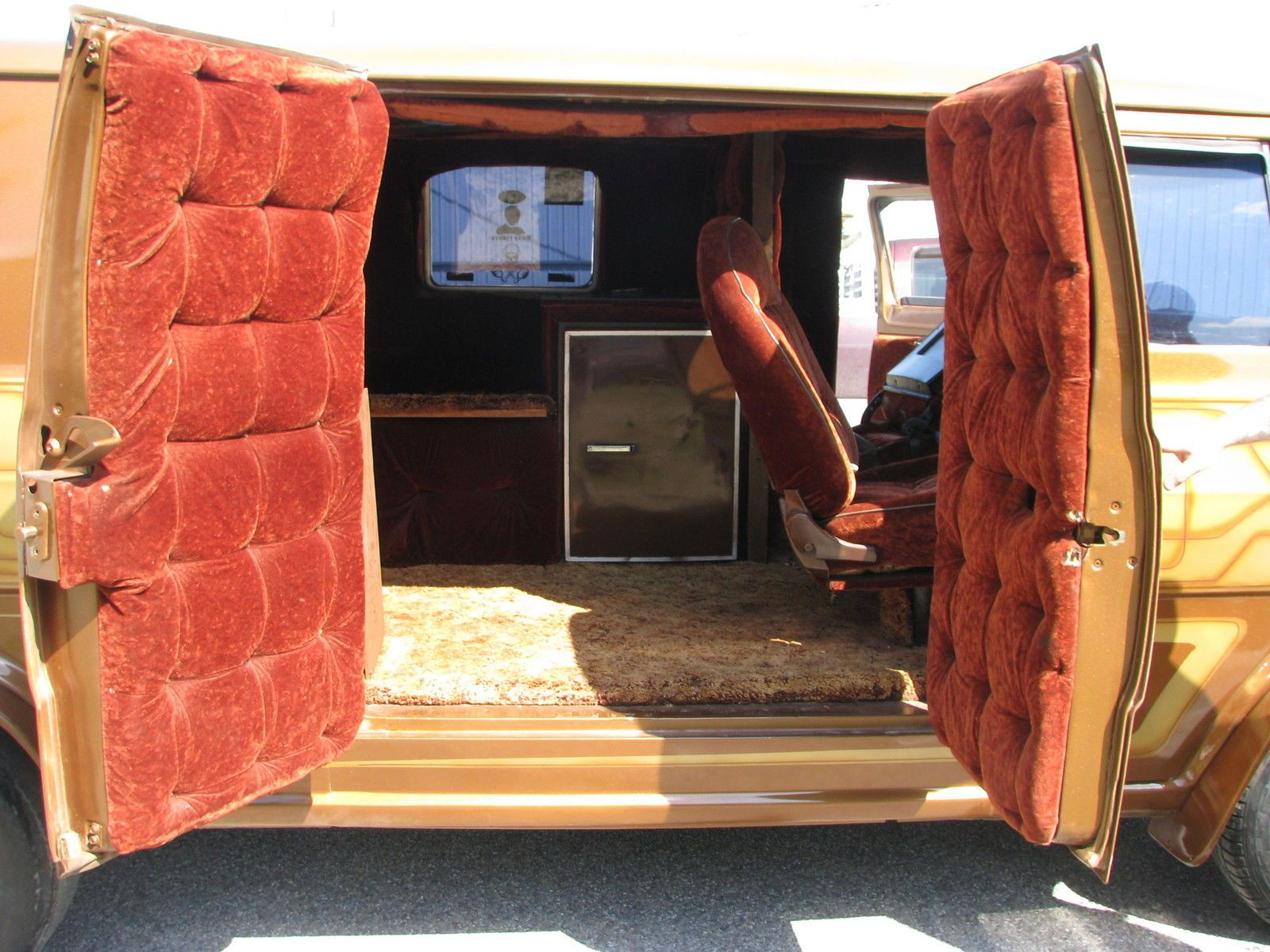 1969 Ford E Series Van Custom Van Interior Cool Vans
