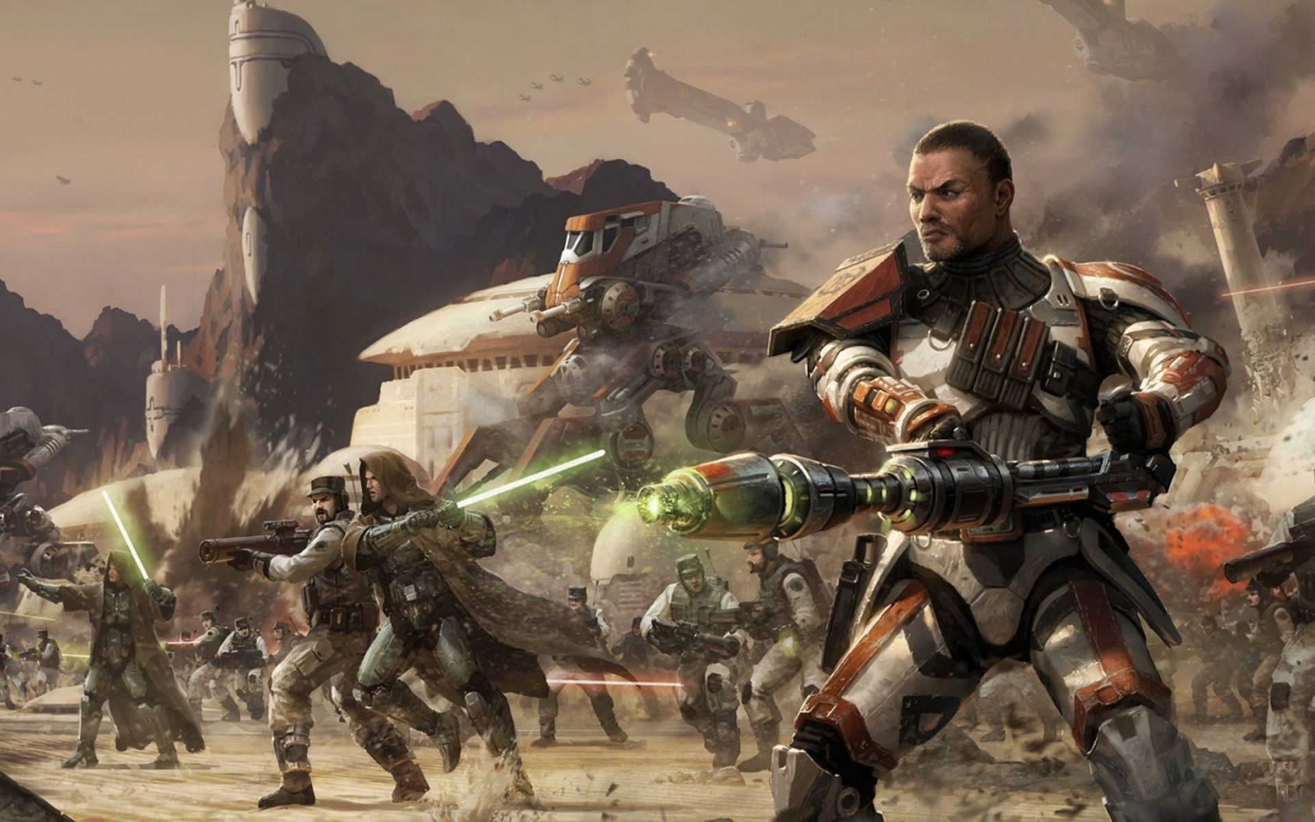 Video Game Star Wars The Old Republic Commander Cody Star Wars Game Sci Fi Robot Battle Commander Futuristic Republic Old Republic Wallpap Star Wars Art Star Wars Images Star Wars Wallpaper