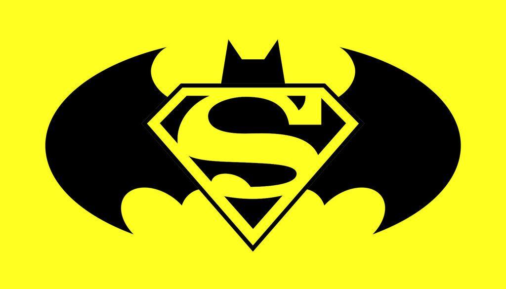 Superman Batman Logo Svg Eps Silhouette File Cutting