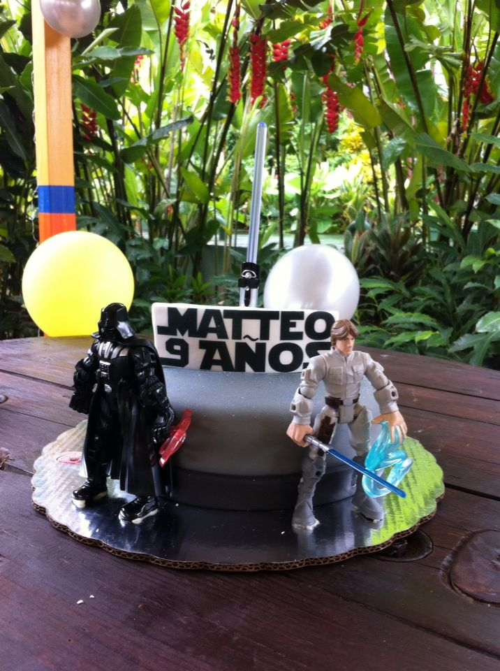 Matteo's Starwars Bday Party