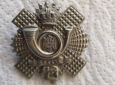 """Ww1/11 """" #highland light infantry """" #white metal hat badge small scroll """" #origin,  View more on the LINK: http://www.zeppy.io/product/gb/2/142148626560/"""