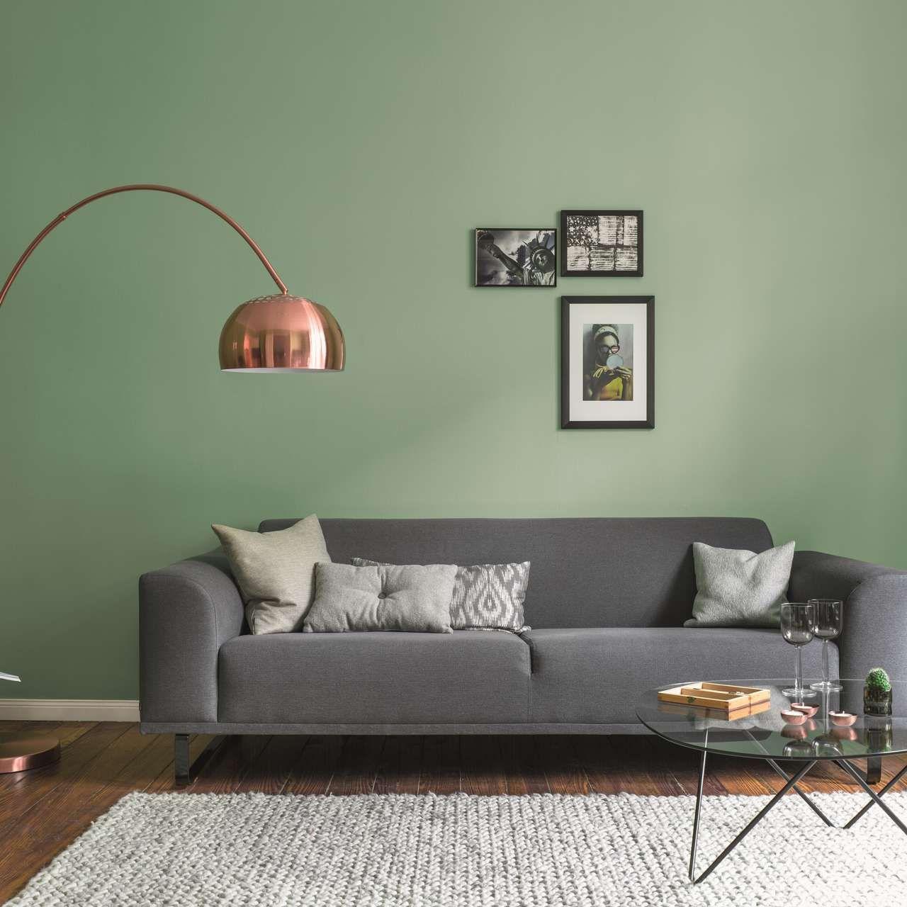 Ideen Und Tipps Fur Farbkombinationen Und Einrichtungen Alpina Farben Alpina Wandfarbe Wandfarbe Wohnzimmer Grune Wohnzimmer