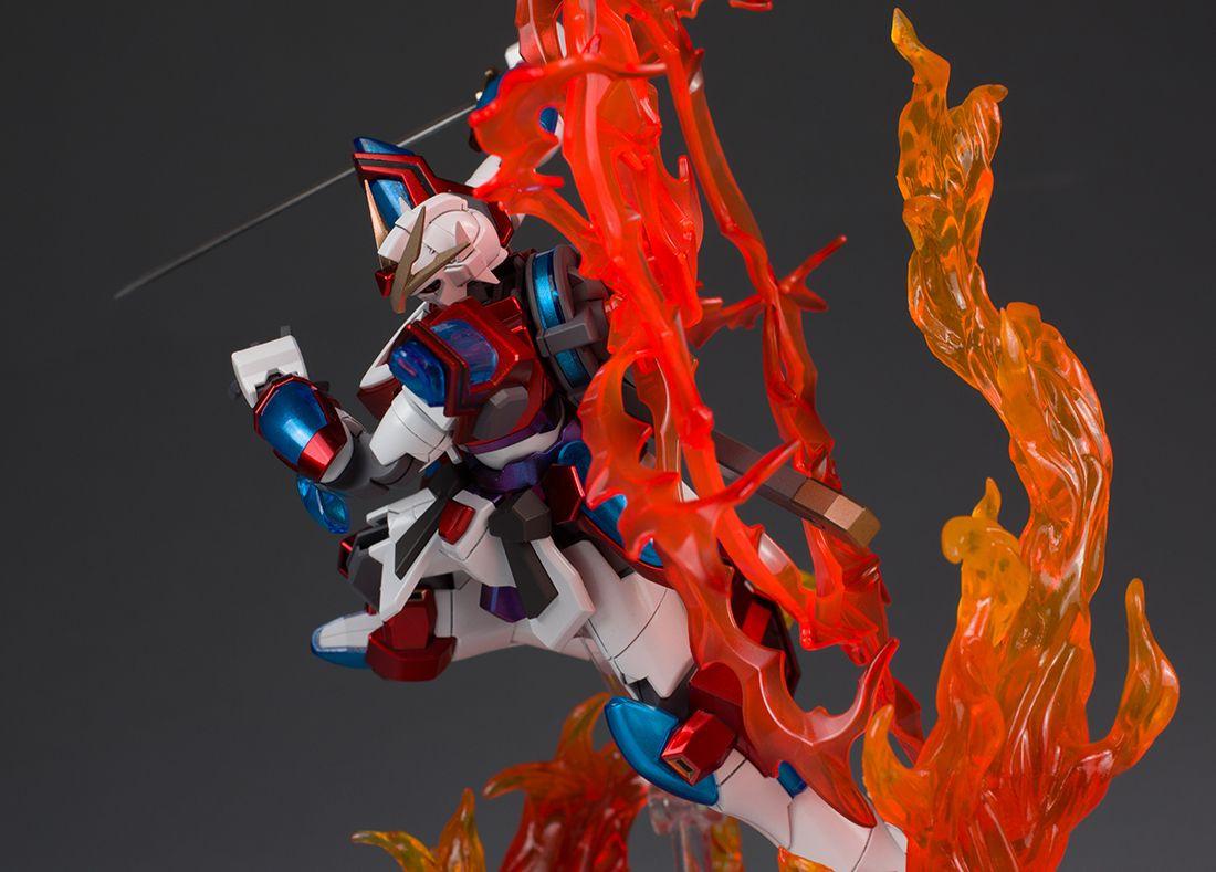 GUNDAM GUY: HGBF 1/144 Kamiki Burning Gundam - Painted Build by Schizophonic9