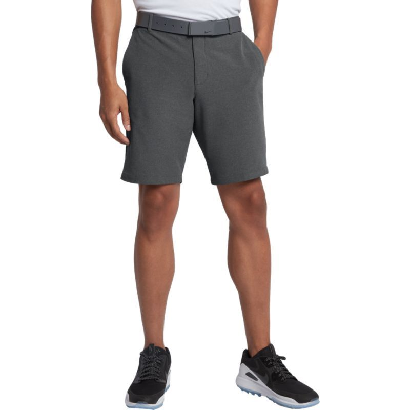 nike men's solid slim fit flex golf shorts