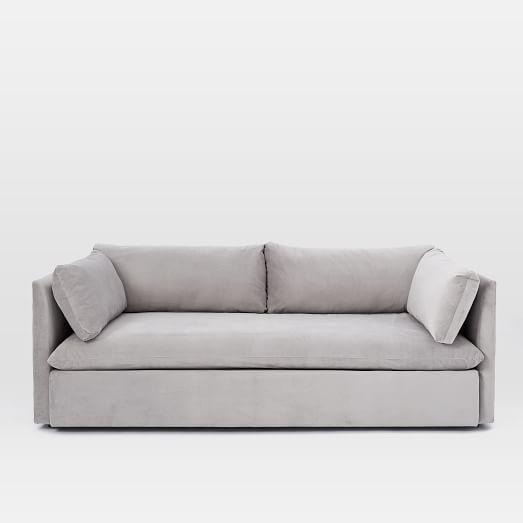 Shelter Queen Sleeper Sofa Sleeper sofas Dove grey and Living