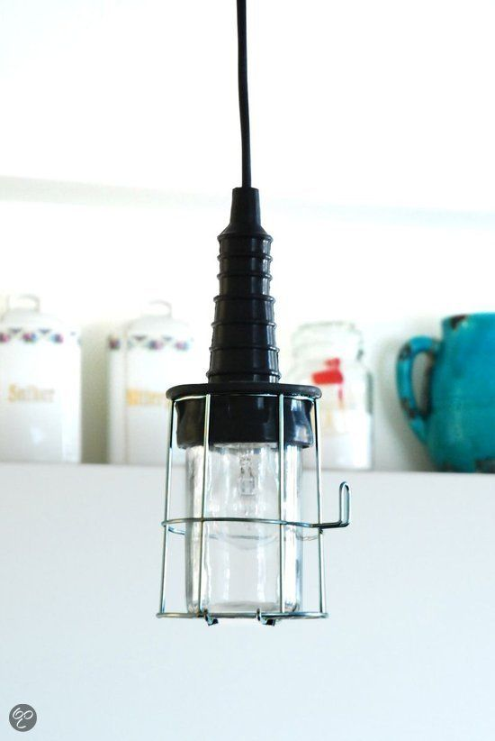 bol.com | Smartwares - Hanglamp/Looplamp - Korf - Zwart | Wonen
