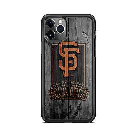San Francisco Giants Logo Dark Wood Wallpaper Iphone 11 Pro Max