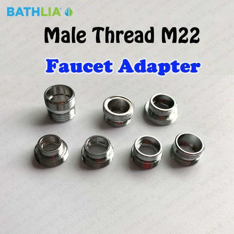 male thread m22 universal shower hose