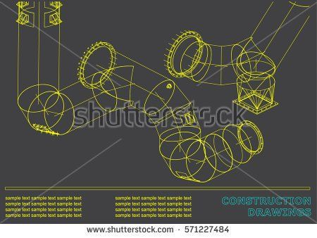 Drawings of structures pipes and pipe 3d blueprint of steel drawings of structures pipes and pipe 3d blueprint of steel structures cover malvernweather Choice Image