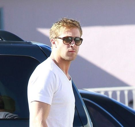 Actor Ryan Gosling was spotted arriving to his Muay Thai fitness class in  West Hollywood wearing a pair of Persol 714 sunglasses. abc76619dcdb