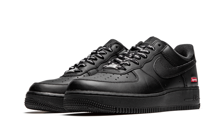 "Air Force 1 Low ""Supreme Mini Box Logo Black"" Stadium"