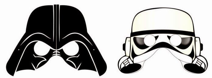 graphic about Star Wars Printable Masks identify Star Wars Free of charge Printable Masks. Oh My Fiesta! inside english