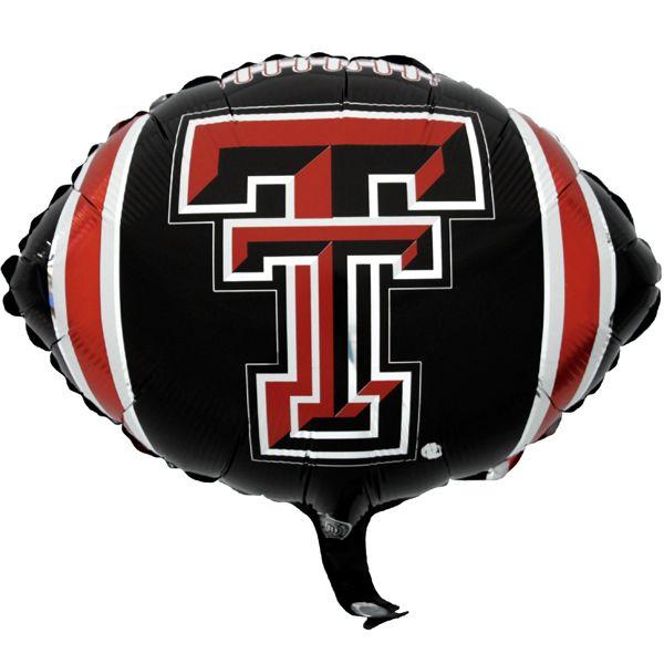 Texas Tech Balloons Texastech Collegecolors Gameday