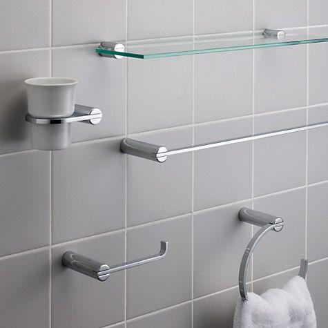 Buy John Lewis Solo Bathroom Fitting Range Online At Johnlewis Com Repisa Bano Banos Disenos De Unas