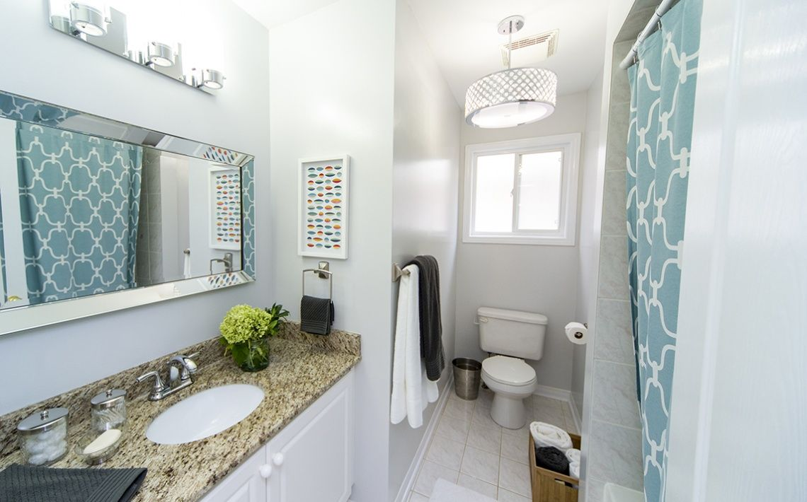After: Bathroom -- Property Brothers