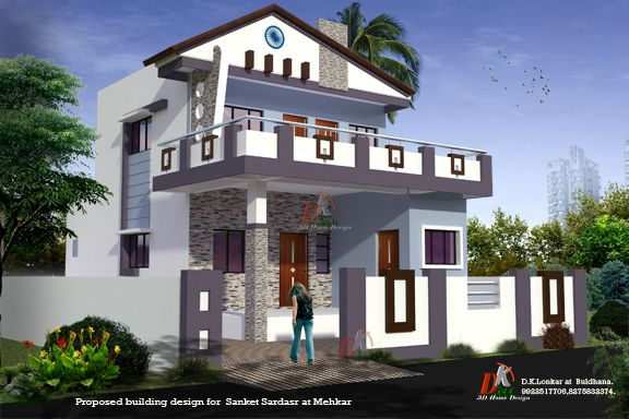 Bungalow 3d Design By D K 3d Home Design Awesome House Design