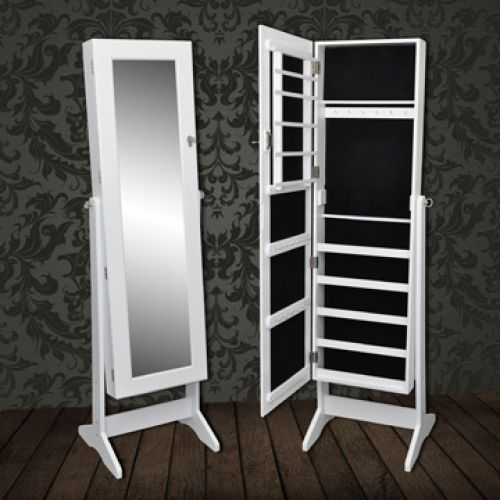 A Cheval Mirror With Storage Inside   How Clever! Saw It For Sale On Ebay