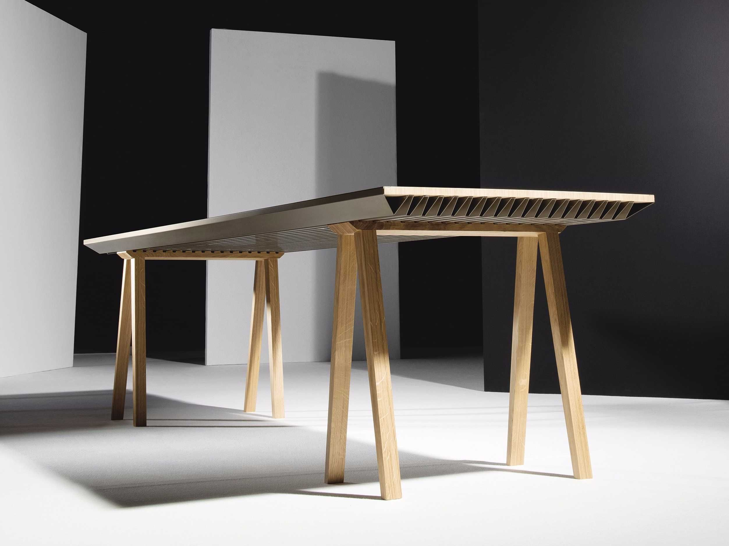 This simple kitchen table will keep your apartment as cool