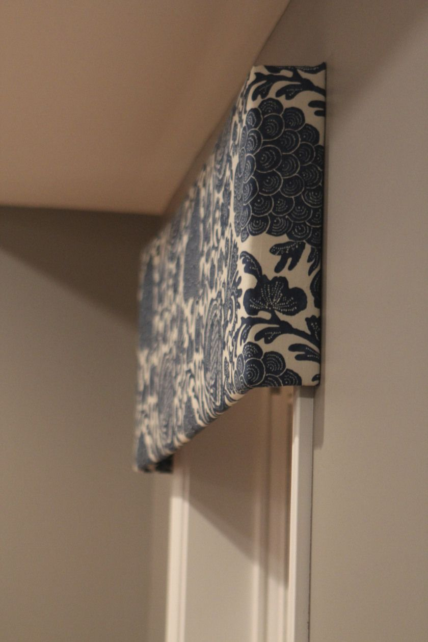 Easy NoSew Window Valance Projects Faux Sho Window