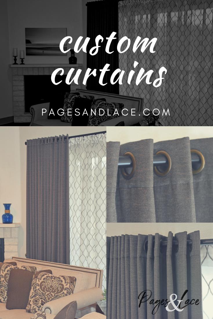 Custom Curtain Idea For Living Room Curtains Custom Curtains
