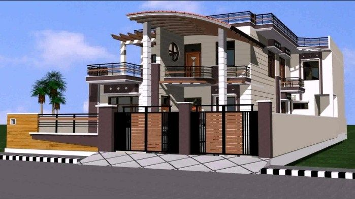 Perfect House Front Gate Grill Design Images
