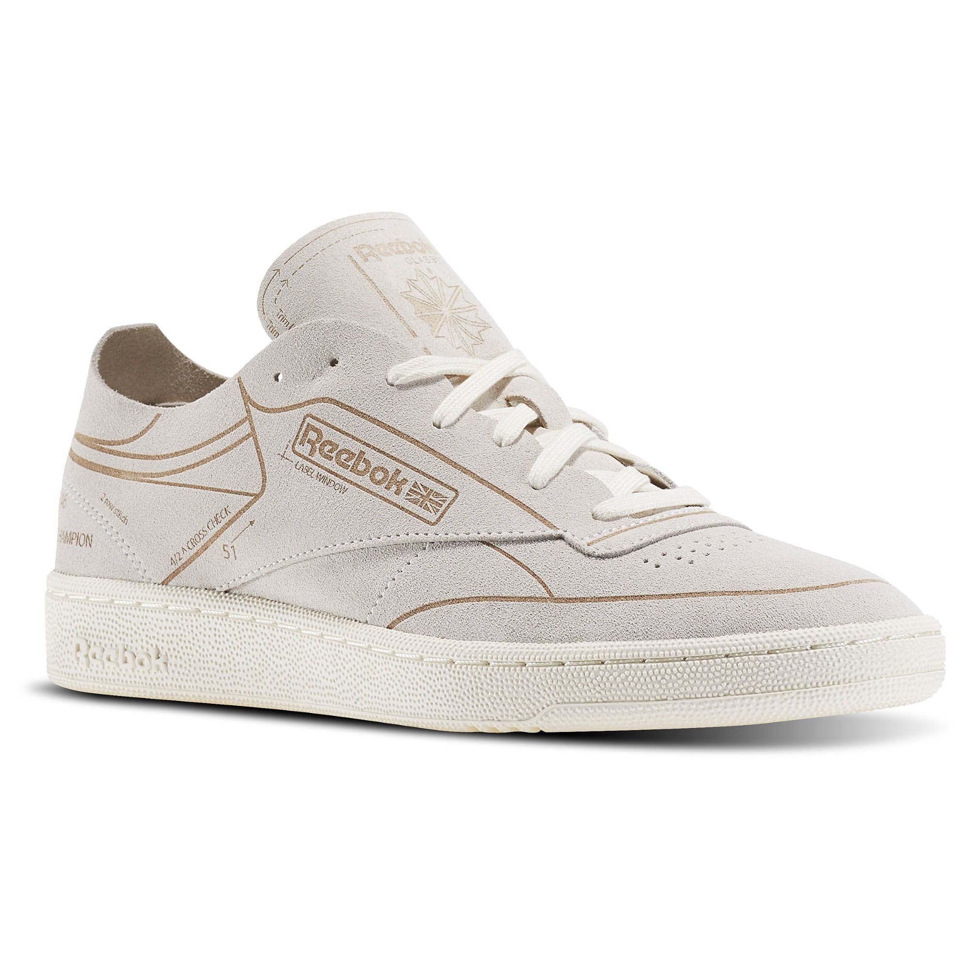 Club 85 C W Chaussures Mâle Blanc o3d6wy