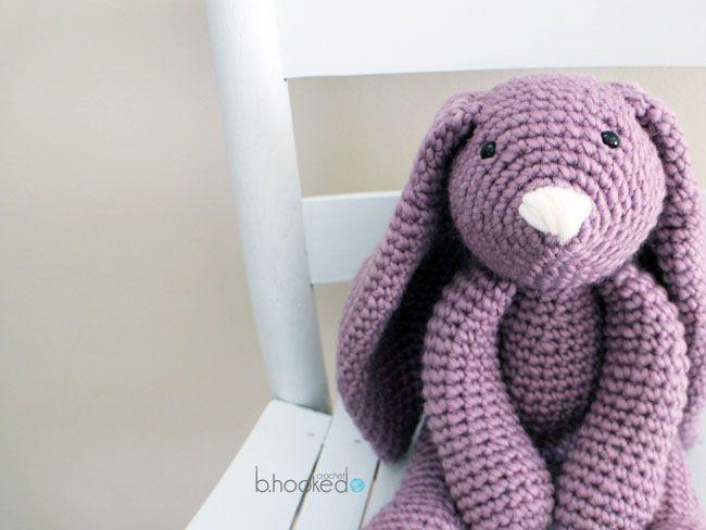 Layla Crochet Bunny Free Pattern Bhooked Crochet Crochet Mesmerizing Crochet Rabbit Pattern