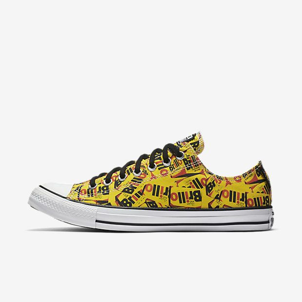 923bcf74f963 Converse Chuck Taylor All Star Andy Warhol Brillo Low Top Unisex Shoe