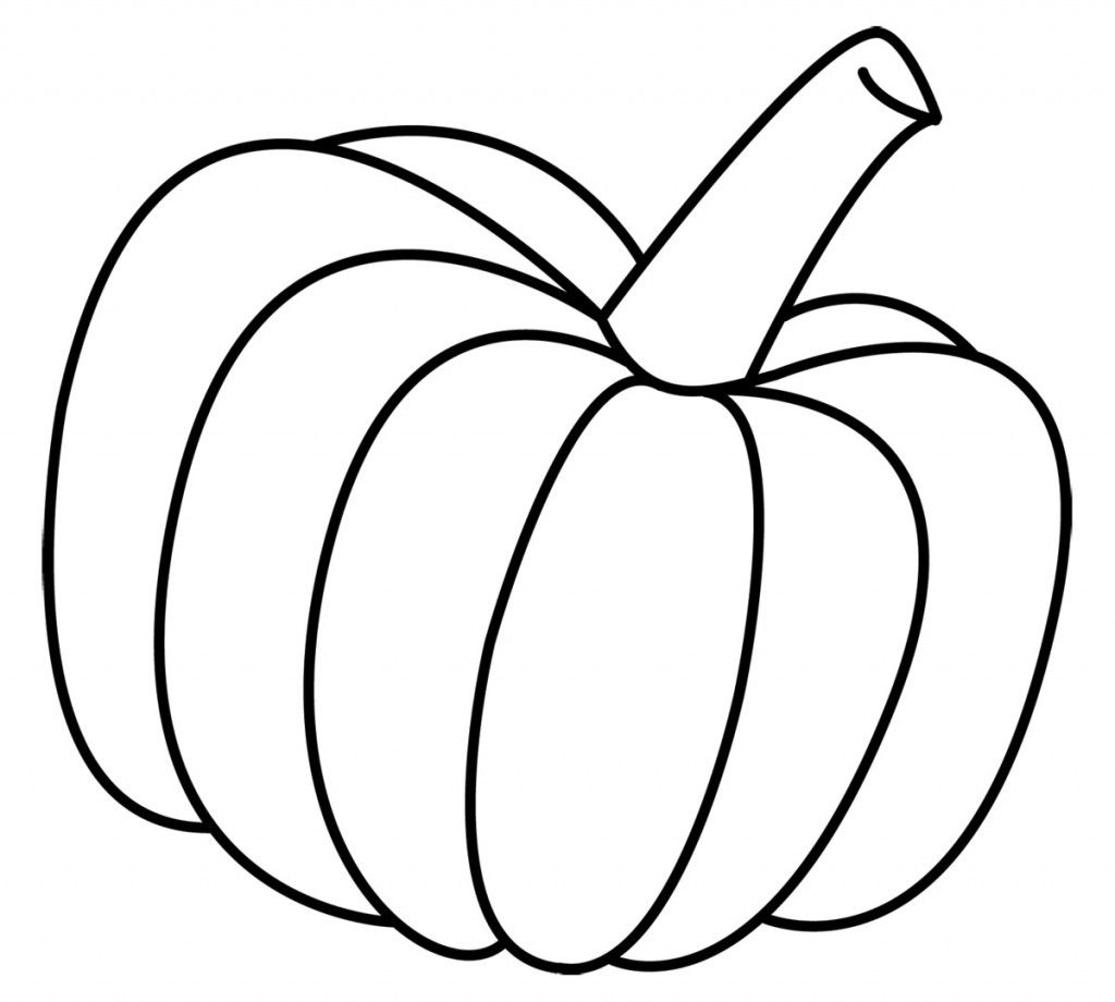 Free Printable Pumpkin Coloring Pages For Kids Pumpkin Coloring Pages Pumpkin Clipart Pumpkin Outline Printable